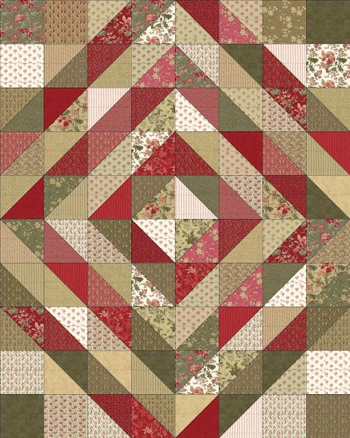 Elegant the dark sideor not layer cake quilt christmas quilt 11 Stylish Layer Cake Quilt Patterns By Moda