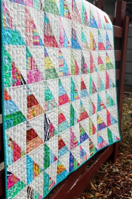Elegant to the point a quick n easy jelly quilt tutorial 11 Stylish Jelly Roll Quilt Patterns Easy Gallery