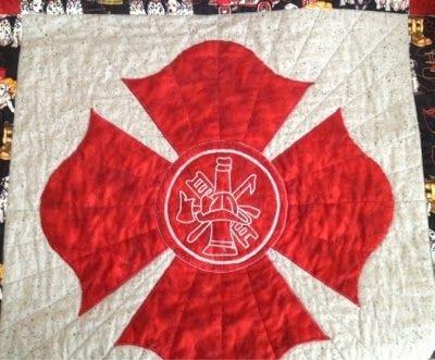 Elegant tutorial maltese cross dresden block cross quilt fireman 11 Modern Firefighter Quilt Patterns