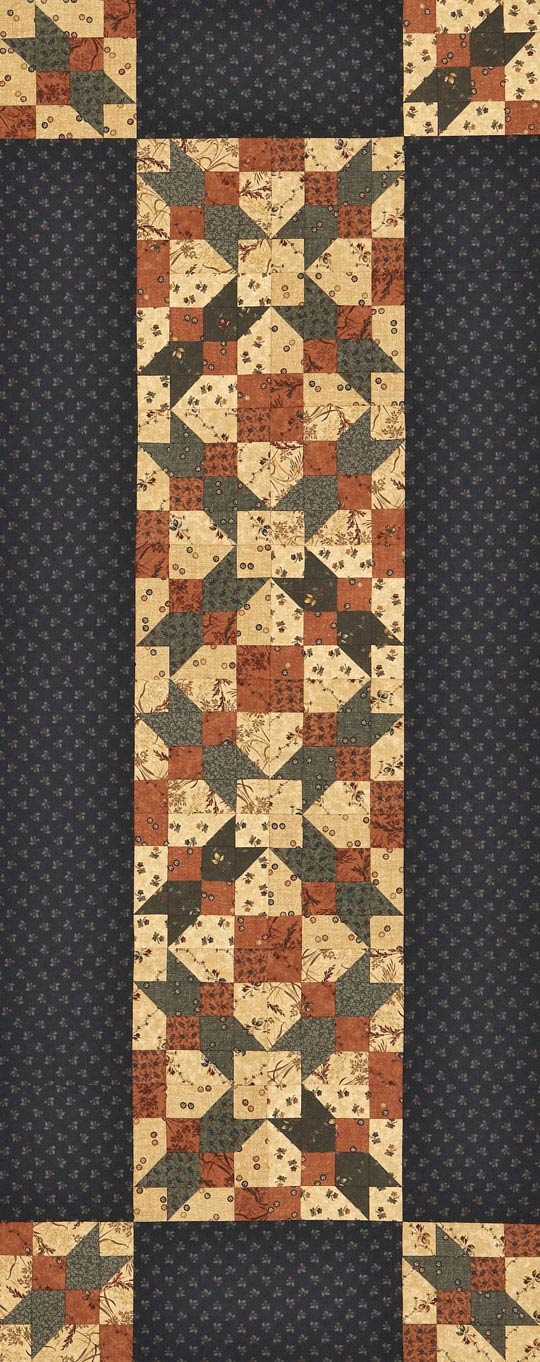 free table runner patterns allpeoplequilt Interesting Patterns For Quilted Table Runners Inspirations