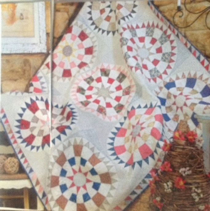 georgetown circle magazine pattern australian patchwork Cozy Georgetown Circle Quilt Block Designer Inspirations