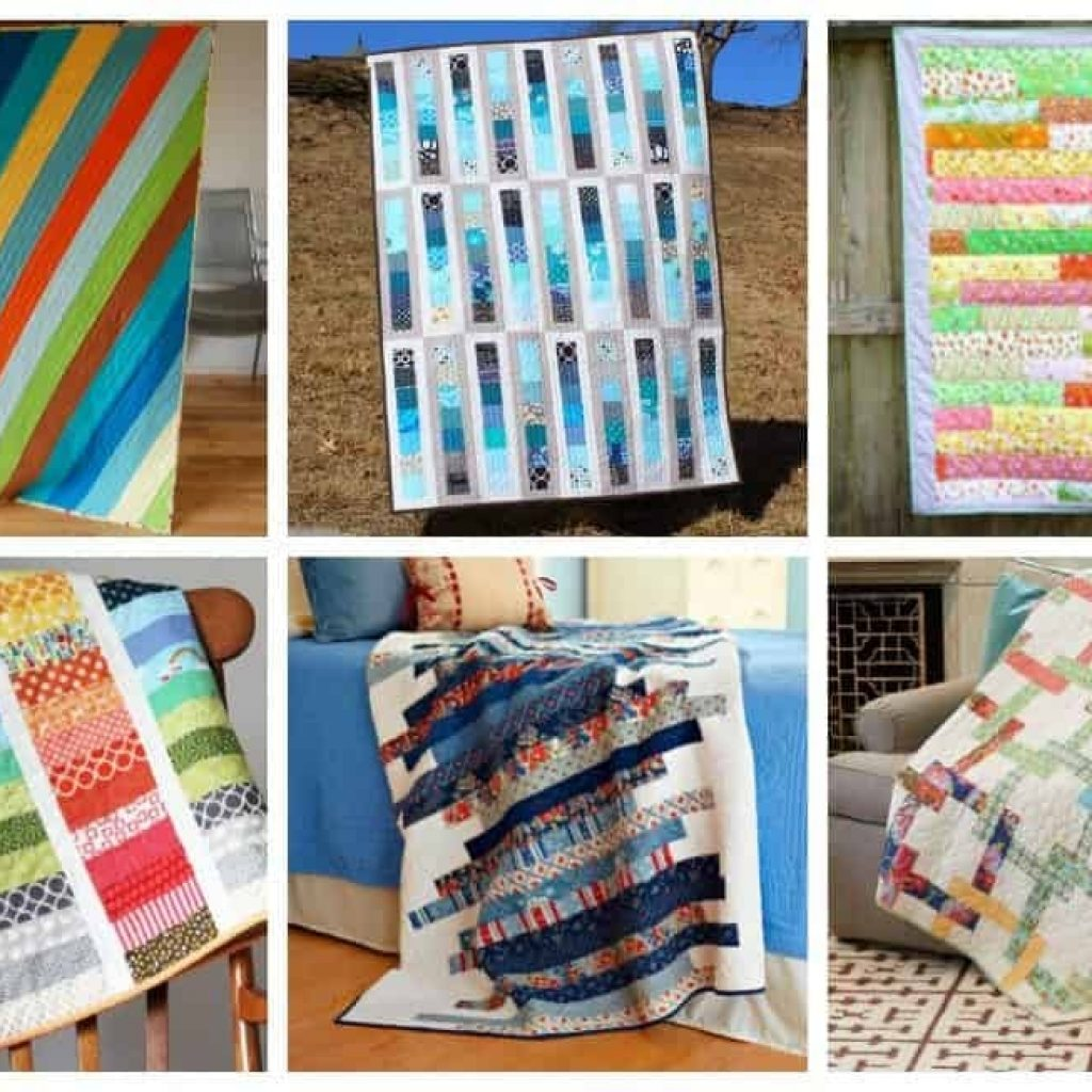 Interesting 13 strip quilt patterns you can easily master ideal me Beautiful Strip Quilt Patterns For Beginners Inspirations