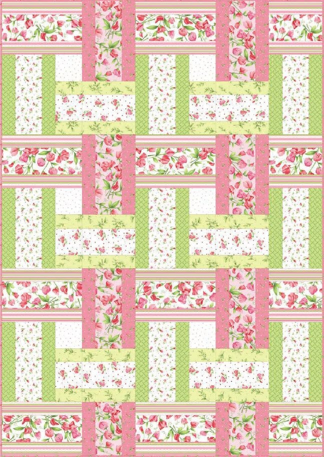 Interesting 13 strip quilt patterns you can easily master strip quilt Interesting Easy Strip Quilt Patterns Gallery