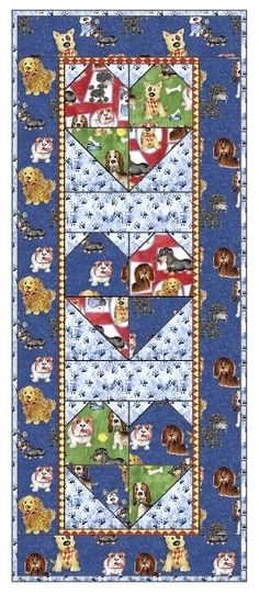 Interesting 24 best free projects 3 wishes fabric images quilts 11 Cool Fresh Dog Themed Quilting Fabric Inspiration