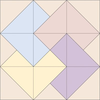 Interesting card trick quilt block howstuffworks 10 Elegant Card Trick Quilt Block Pattern Gallery