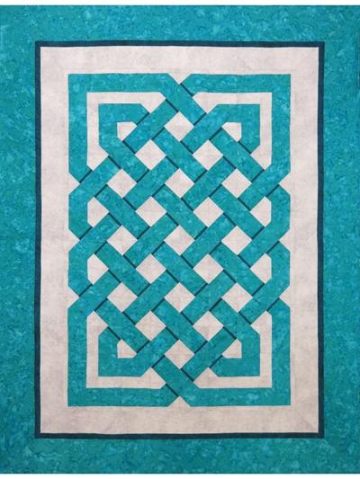 Interesting celtic weave quilt pattern 9 Modern Celtic Quilting Patterns