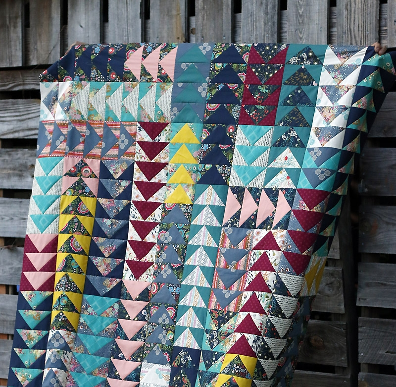 Interesting flying geese quilt crochet spiration 11 Beautiful Flying Goose Quilt Pattern