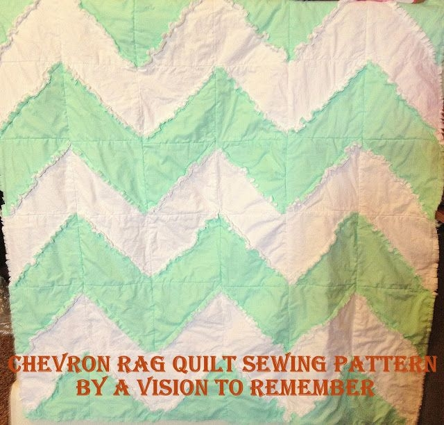 Interesting free chevron rag quilt pattern with bonus car seat tent 9 Cool Chevron Rag Quilt Pattern Inspirations