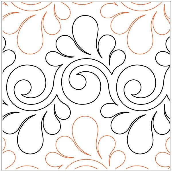 Permalink to 9 Elegant Pantograph Quilting Patterns