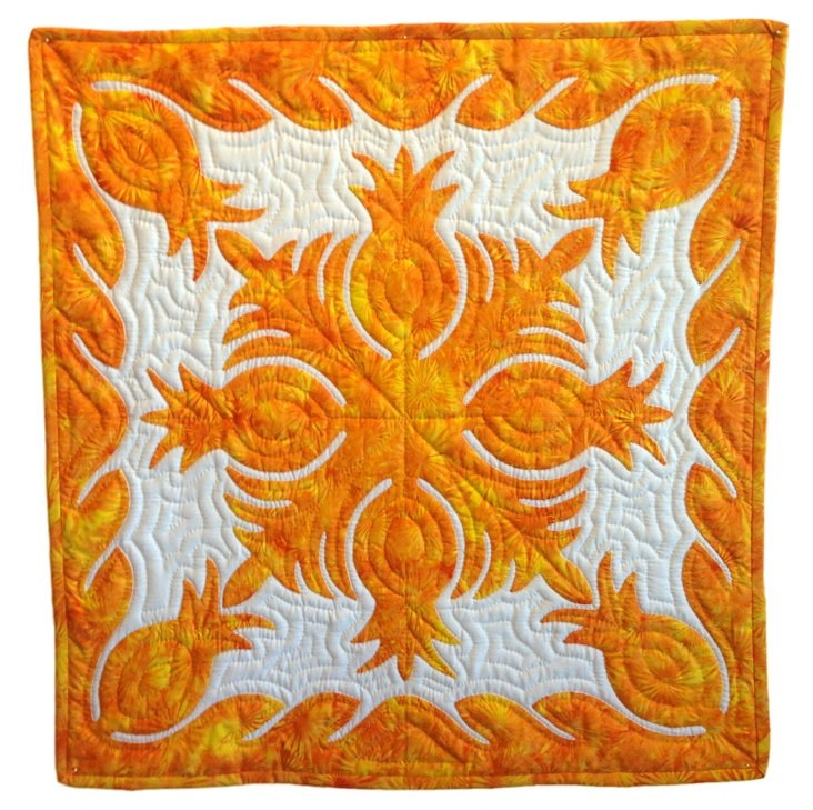 Interesting hawaiian applique patterns 11 New Hawaiian Applique Quilt Patterns