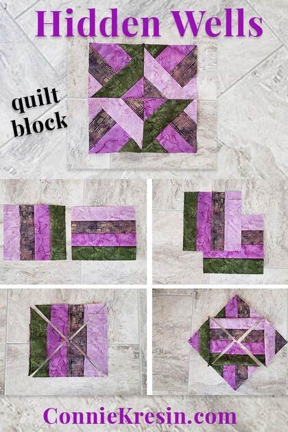 10 Interesting Hidden Wells Quilt Pattern Inspirations