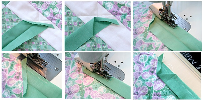Interesting how to bind a quilt machine quilt binding tutorial 9 Stylish Sewing Binding On Quilt