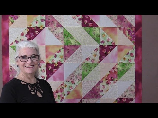 Interesting hst half square triangle quilt youtube Interesting Half Square Triangle Quilt Block Patterns Gallery