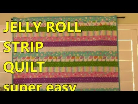 Interesting jelly roll strip quilt 10 Cool Jelly Roll Strip Quilt Pattern