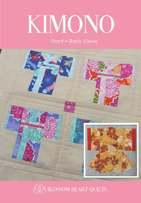 Interesting kimono quilt block paper pieced pdf 10 Cool Kimono Quilt Paper Piecing