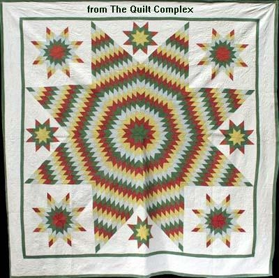 Interesting lone star quilt pattern history a star of many names 11 Unique Historical Quilt Patterns Inspirations
