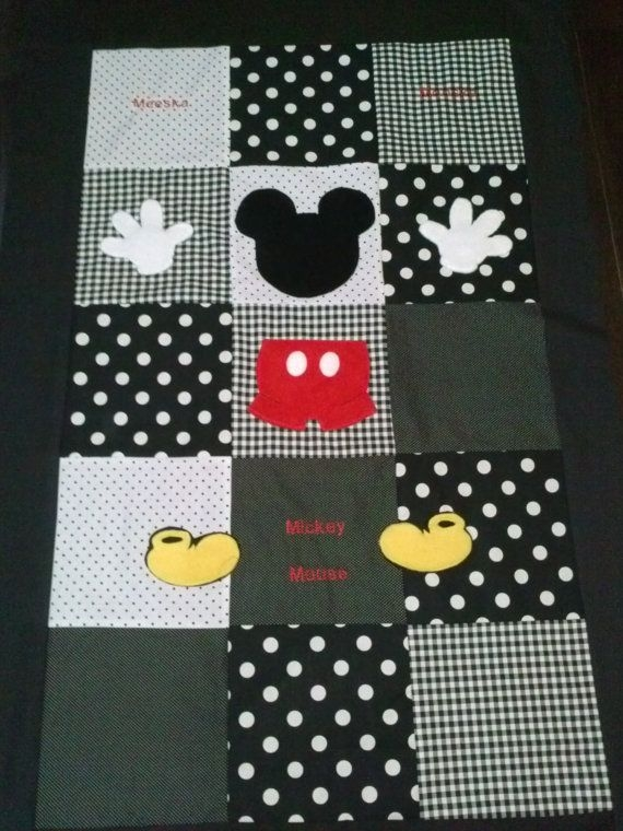Interesting mickeys clubhouse toddler quilt mickey mouse quilt disney 9 Cool Mickey Mouse Quilt Pattern