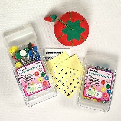 Interesting numbered sewing quilting pins in stackable container 120pcs 300pcs 600pcs ebay 10 Beautiful Numbered Pins For Quilting And Sewing Inspirations