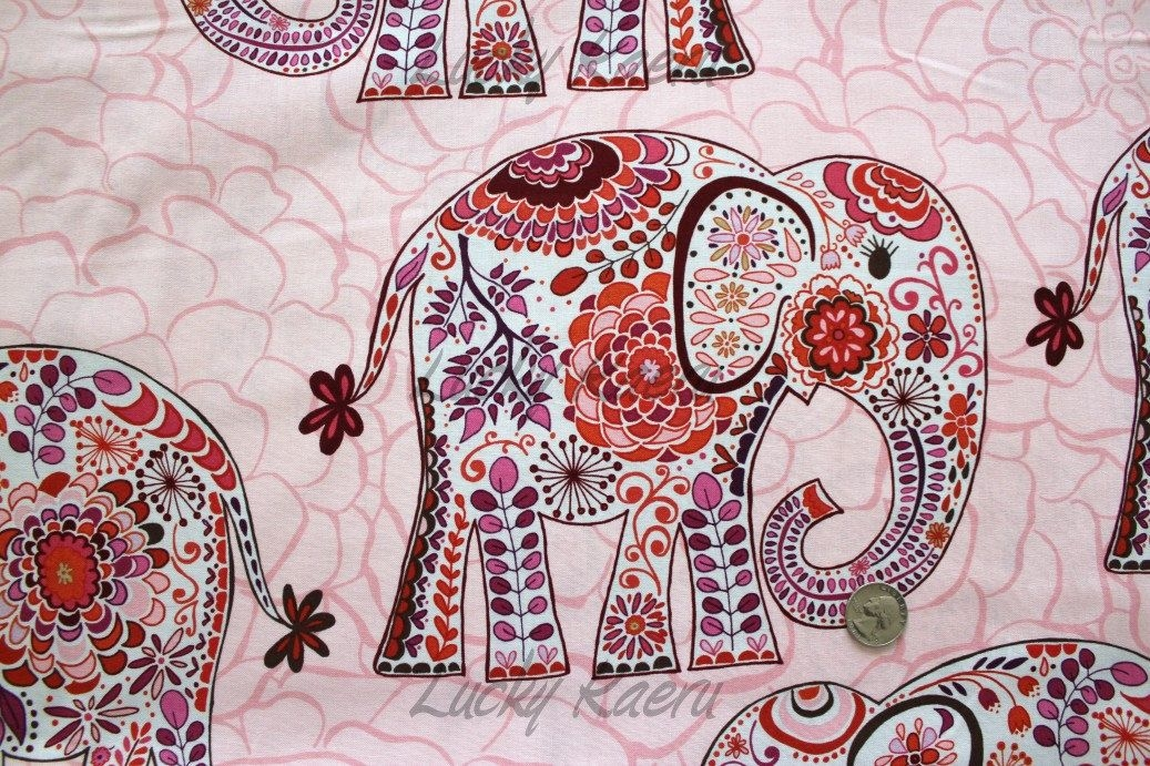 Interesting pin kelly eggers on sewing maybe elephant quilt 10 Beautiful Quilting Fabric Elephant Print Ideas Gallery