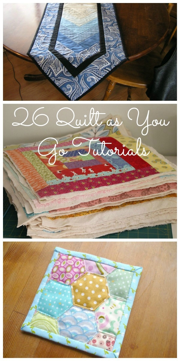 Interesting quilt as you go tutorials qayg video and 26 quilt tutorials Interesting Quilt As You Go Quilt Patterns