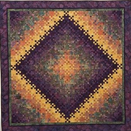 Interesting quilt inspiration blooming nine patch a perennial favorite Cozy Blooming Nine Patch Quilt Pattern Inspirations