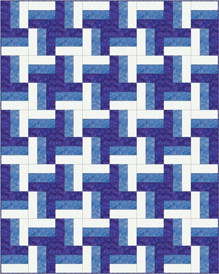 Interesting rail fence quilt pattern designs easy beginner quilt pattern 10 Cool Fence Rail Quilt Patterns Gallery