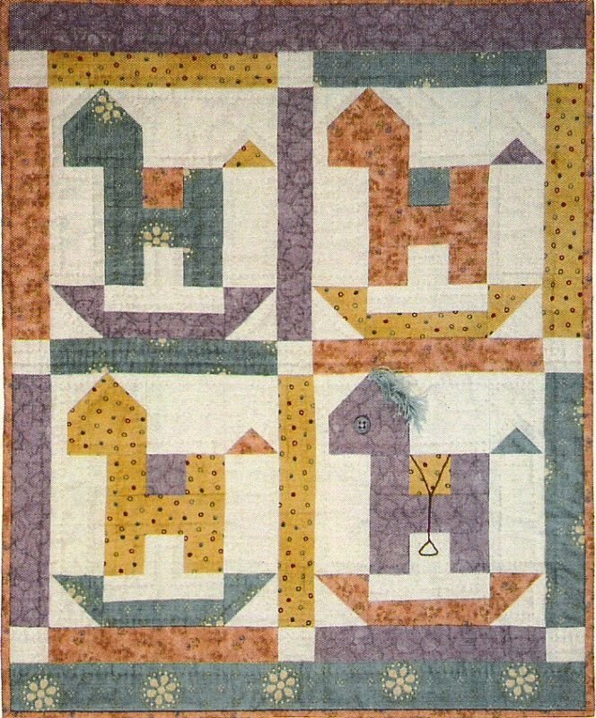 Interesting rocking horse quilt pattern lori smith 10 Cool Rocking Horse Quilt Pattern