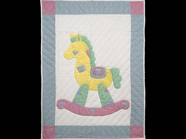 Interesting rocking horse quilt terrific made with care amish quilts 10 Cool Rocking Horse Quilt Pattern