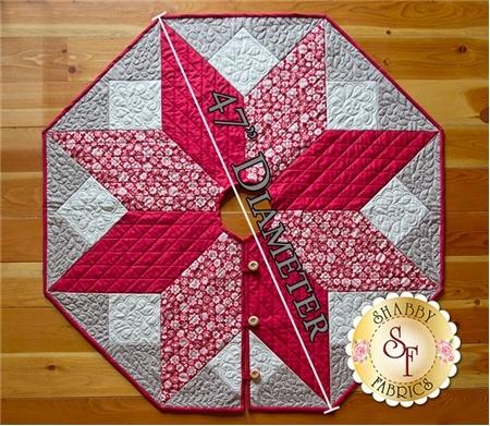 Interesting scandi christmas tree skirt pattern Cozy Quilted Tree Skirt Pattern Inspirations