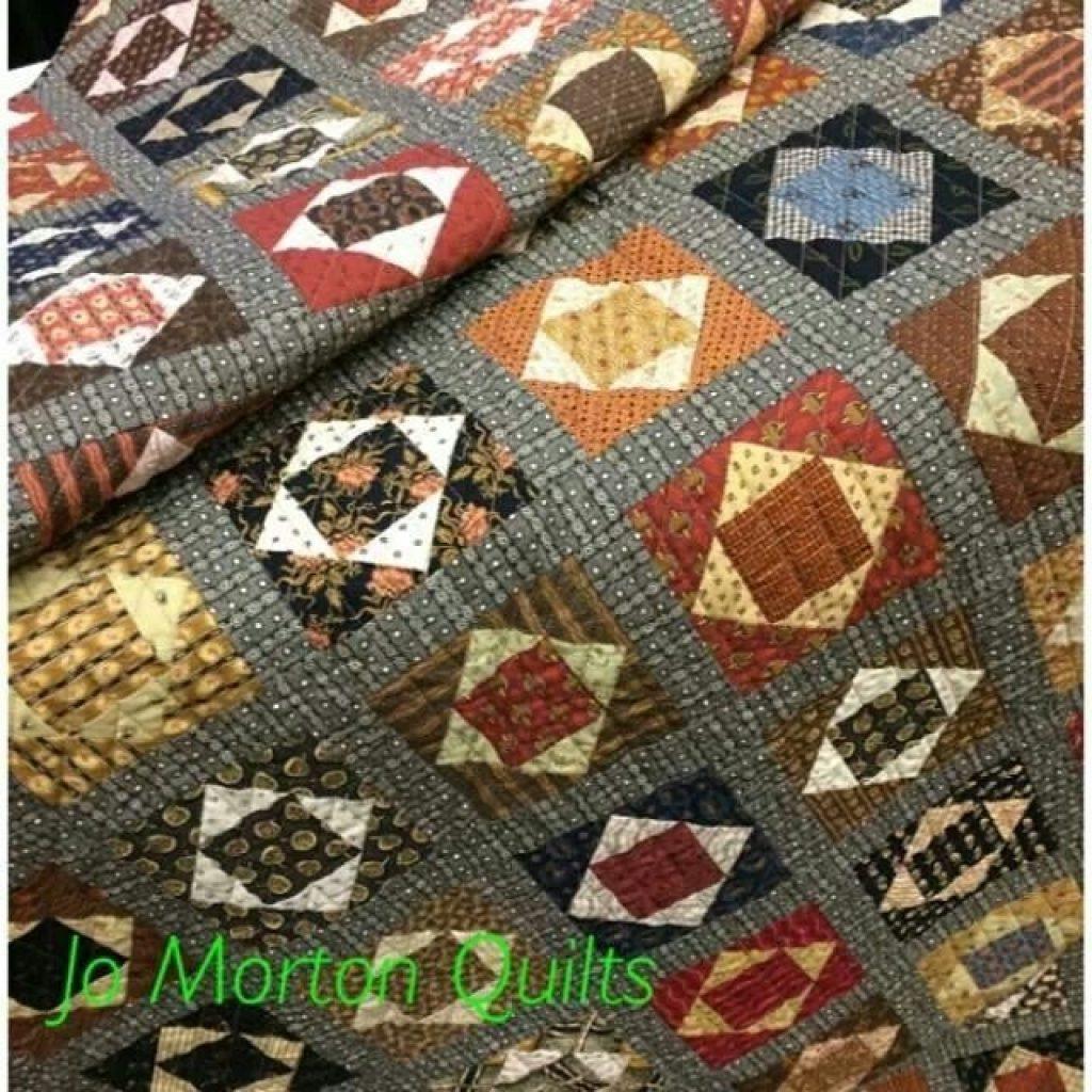 Interesting smores quilt jo morton quilts traditional quilts 9 Unique Jo Morton Quilt Patterns Inspirations