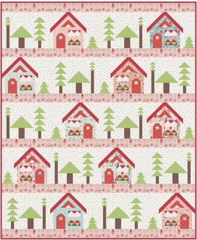 Interesting to grandmas house quilt pattern kelli fannin designs 9 Beautiful House Quilt Pattern