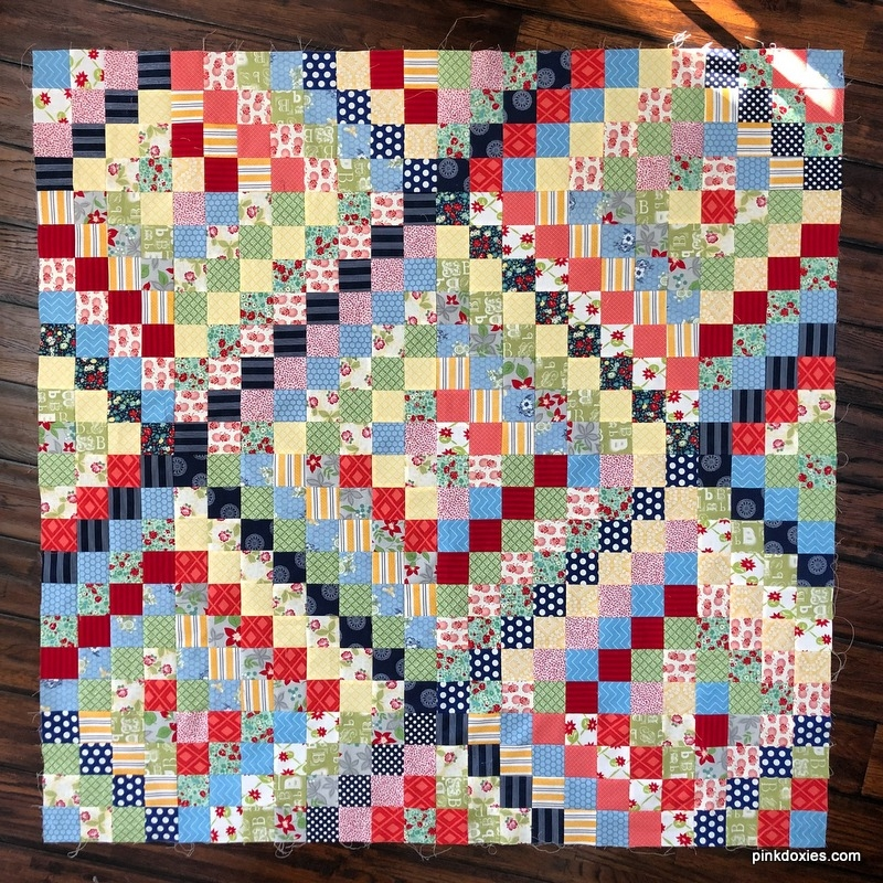 julie stocker quilts at pink doxies comparing methods for 10 Beautiful Trip Around The World Quilt Pattern Gallery