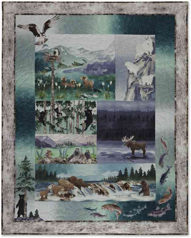 kits pine needles bold over batiks etc fabric peddler Modern Mckenna Ryan Quilt Patterns Inspirations