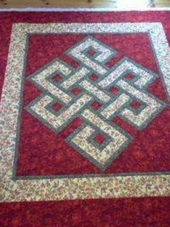 lap size gordian knot quilt pattern 9 Modern Celtic Quilting Patterns