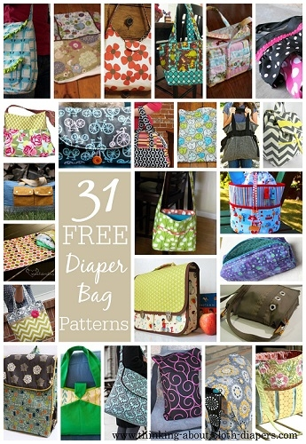 Modern 31 free diaper bag patterns tutorials 9 Cozy Quilted Diaper Bag Pattern Gallery
