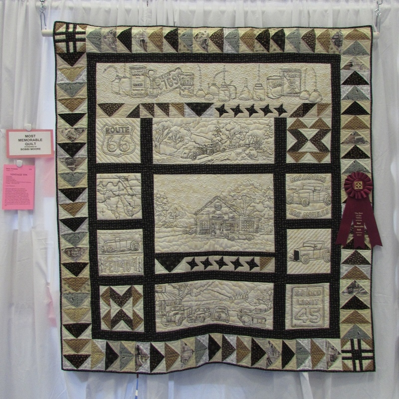 Modern best of the valley quilt lovers from tulare and kings county Cool Vintage Tin Quilt Kit