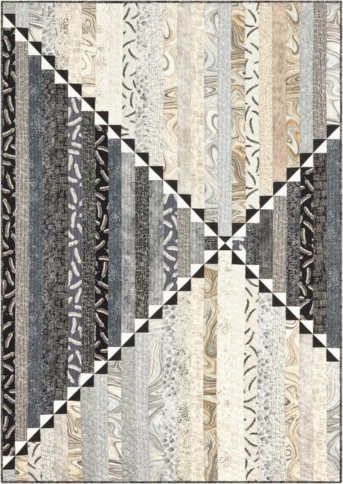 Modern center point free pattern robert kaufman fabric company 9 Cool Robert Kaufman Quilt Patterns Inspirations