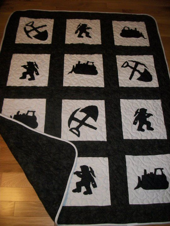 Permalink to 9 Cool Coal Miner Quilt Pattern Inspirations