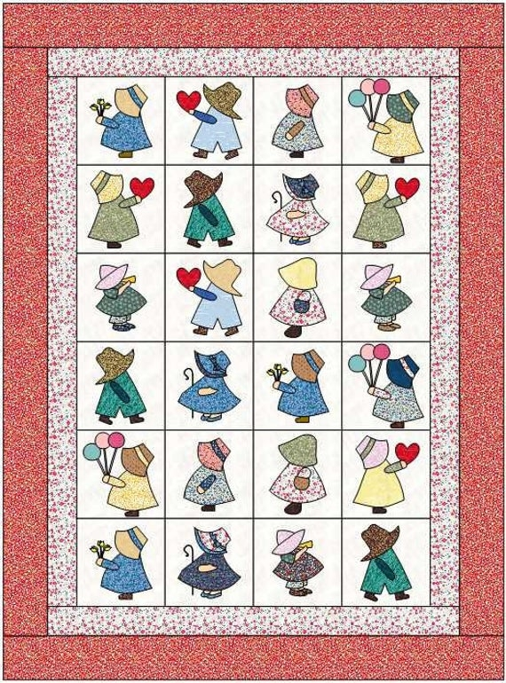 Permalink to Cozy Sunbonnet Sue Quilt Patterns Inspirations
