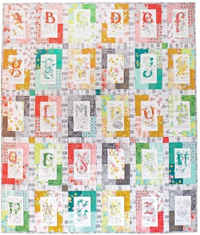 Modern download nature walk a to z free pattern quilt kit quilts 11 Elegant Michael Miller Quilt Patterns Inspirations