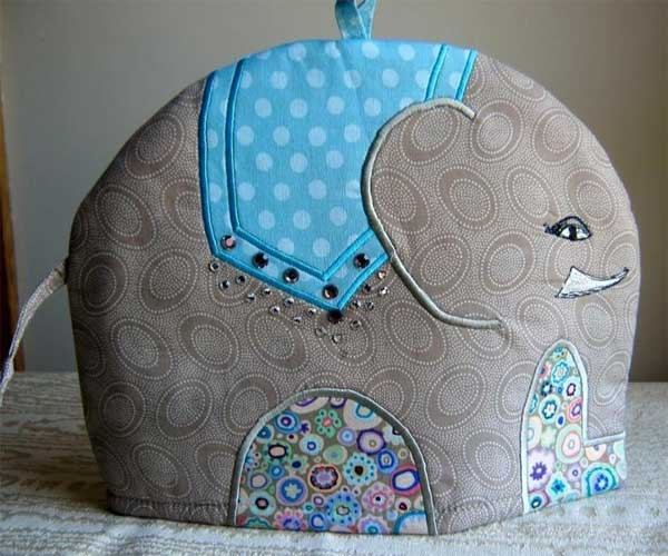 Modern elephant tea cosy sewing pattern love to sew 9 Interesting Quilted Tea Cozy Pattern Gallery