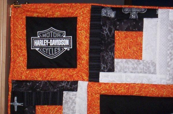 Modern harley davidson quilt quiltingboard forums 10 Elegant Harley Davidson Quilt Patterns Inspirations