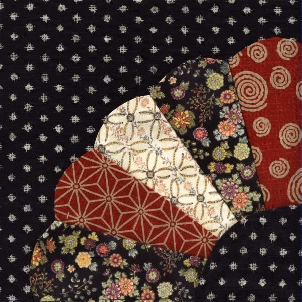 Modern julias place japanese quilt block 1 fan japanese 11 Cozy Elegant Japanese Fabric Quilt Ideas Gallery