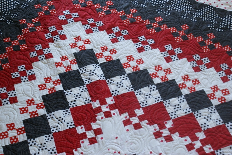 Modern king size blooming nine patch quiltingboard forums Cozy Blooming Nine Patch Quilt Pattern Inspirations