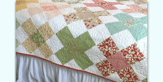 Modern large granny square blocks make a charming quilt quilting 10 Cozy Granny Square Quilt Block Pattern Gallery