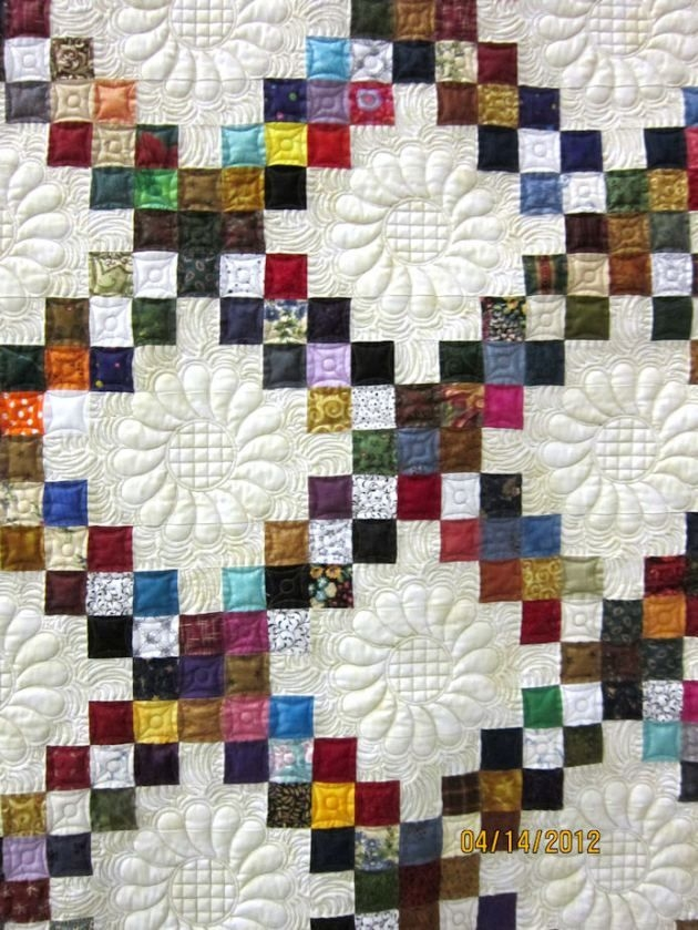 Modern looking at the quilting looking for inspiration irish 11   Irish Chain Quilt Pattern Gallery