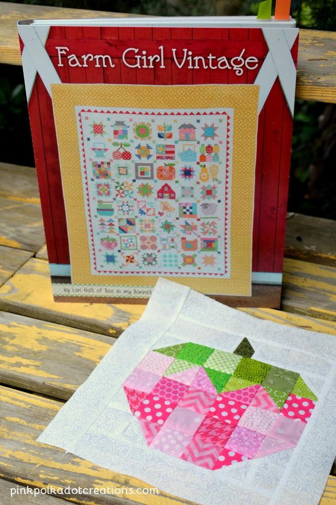 Modern lori holt farm girl vintage book pink polka dot creations 11 Cozy Farm Girl Vintage Quilt Book Inspirations