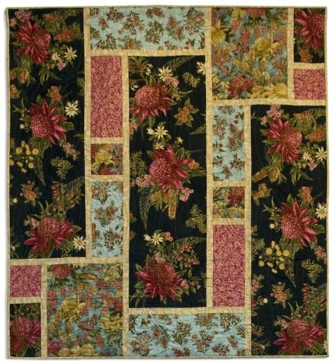 Modern pin on quilting Large Print Fabric Quilt Patterns