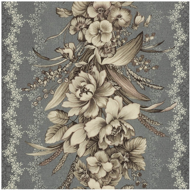 Modern quilt gate gentle flower fabric 10   Quilt Gate Gentle Flowers Fabric Inspirations