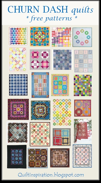 Modern quilt inspiration free pattern day shoo fly and churn dash 10 Beautiful Vintage Churn Dash Quilt Pattern Inspirations